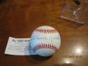 Bill Swish Nicholson Cubs HR Champ Signed Autographed Baseball