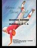 1959 Shrimp Bowl All service program Quantico Marines 90-0 Mcclellan AFB