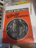 1949 Minneapolis Lakers Basketball Yearbook em