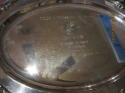 Ernie Nevers 1967 Award presented by the Touchdown Club for College & Pro Hall of fame