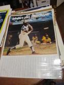 1974 Hank Aaron Macgregor Atlanta Braves Home run poster bb