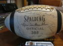 Signed 1956 Notre Dame Football Paul Hornung 66 SIGNATURES