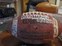 Team Signed 9/24 1983 Morehouse 53 Fisk 6 Game ball B.T. Harvey Stadium Opening