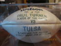 Game Ball Paul Turner player of the Game Louisiana Tech vs Tulsa Football Game