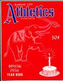 1956 Kansas city Athletics Baseball yearbook 2nd edition em