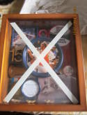 NEW YORK YANKEES THURMAN MUNSON COOPERSTOWN COLLECTION SHADOWBOX