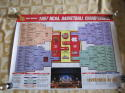 1997 NCAA BASKETBALL CHAMPIONSHIP ARIZONA WINS TOURNAMENT POSTER