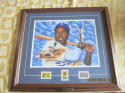 Jackie Robinson Brooklyn dodgers Higgins Bond Framed Print