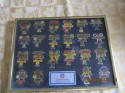 Superbowl World Championship Commemorative Pin collection 1- 22