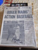 Vintage Roger Maris Action Baseball Game 1962 Pressman (no game box only)