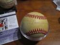 Buck Leonard HOF Signed Baseball jsa certificate