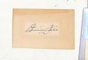 Jimmie Foxx A's Signed 4x3 index card JSA letter solid!