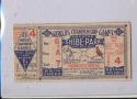1931 World Series St. Louis Cardinals vs Philadelphia Athletics Game 4 Ticket Stub