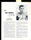 1955 12/11 Baltimore Colts vs San Francisco 49ers signed football program 13 players Earl Morrall