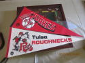 1980's Tulsa Roughnecks Soccer Full size Pennant (only listed)