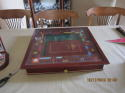 1991 Franklin Mint Monopoly Collectors Edition Game & Protective Glass