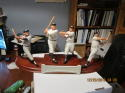 Danbury Mint NY Yankees Legends Figurines,RUTH,MANTLE,GEHRIG,DIMAGGIO