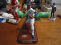 Nolan Ryan Texas Rangers large statue figurine Danbury Mint
