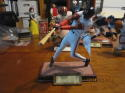 BARRY BONDS HAND SIGNED SPORTS IMPRESSIONS FIGURINE LIMITED EDITION LARGE