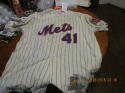 Tom Seaver 1969 New York Mets #41 wool Jersey Mitchell Ness Cooperstown Collection