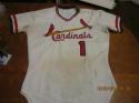 Gary Templeton St. Louis Cardinals 1977 #1 set tag Rawlings Jersey size 40