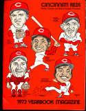 1973 Cincinnati Reds Baseball Yearbook nm  b1