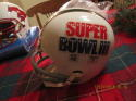 NEW YORK JETS 16 BALTIMORE COLTS 7 SUPERBOWL III 1969 FULL SIZE HELMET RIDDELL