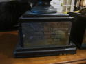 1955 MVP George Welsh Navy South Team North South All Star Game Trophy