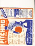 1939 Wheaties full box Red Ruffing Yankees no top or bottom flap