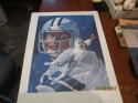 1982 Drew Pearson & Randy White Dallas Cowboys Print 24x18 RJones
