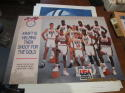 1992 USA Olympic Basketball Team Michael Jordan 24x18 Kraft