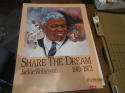 Share the Dream Jackie Robinson Brooklyn Dodgers coca Cola