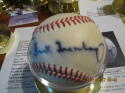 Hank Greenberg Tigers signed baseball OAL JSA letter