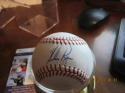 Nolan Ryan signed ball baseball OAL JSA