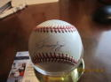 ken griffey jr signed ball baseball OAL JSA