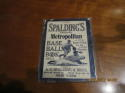 1910 Spalding's New York City Metropolitan Baseball Guide