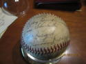 1942 St. Louis Cardinals World Series champions Signed Team ball 26 signatures