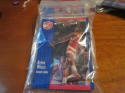 1991 Fleer 3d redemption cards Kevin Willis Hawks 7 unopened