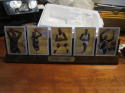 1994 Classic Shaquille O'Neal Ceramic AP 5-card set (no box or board)