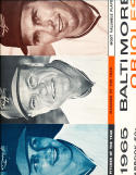 1965 baltimore Orioles Baseball yearbook em