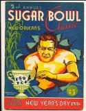 1936 Sugar Bowl Program em clean copy LSU vs TCU