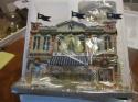 2007 Hawthorne Village Yankees Barber Shop Christmas Village in box