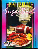 1995 1/2 Sugar bowl Football Program Florida vs Florida State