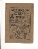 1921 Idaho vs Wyoming Football Program Armistice Day
