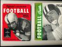 1958 Football official NCAA guide Tom Greene Holy Cross (only listed) NCAAFB1