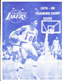 1979 -80 Los Angeles Lakers radio tv Press guide training camp guide