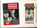 1936 Famous slugger yearbook Louisville Lou Gehrig  ex (only copy)