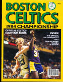 1984 Boston Celtics Championship Year book Larry Bird magic johnson