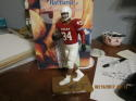 ricky williams signed university of Texas Hartland statue 1/150