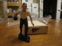 1950's The Bowler with Black Base Version Hartland Statue with Box